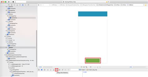 xcode debug layout constraints ios uibutton with autolayout doesn t appear in xcode 8