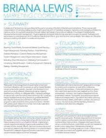 marketing resume sles by lewis writing resume