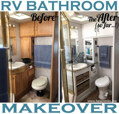 rv ideas renovations what happened next rv renovation the bathroom