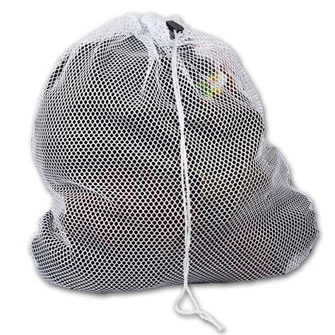 Drawstring Mesh Laundry Bag large mesh laundry bag with drawstring white