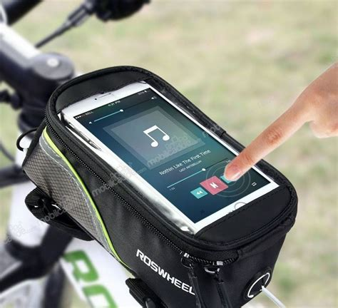 roswheel universal bisiklet telefon cantasi uecretsiz kargo