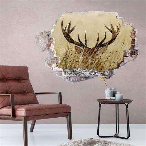 Wall Wandtattoo by 3d Wall Sticker Deer