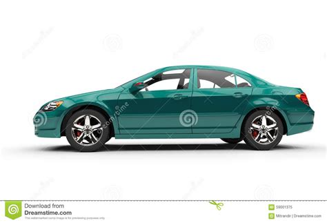 teal car clipart teal business car side view stock illustration image