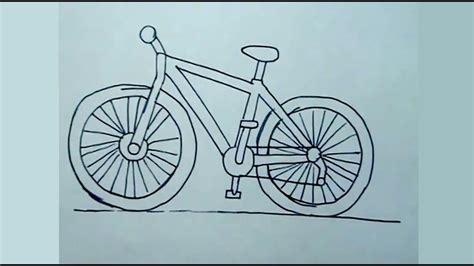 imagenes de bicicletas faciles para dibujar aprender a dibujar f 225 cil c 243 mo dibujar una bicicleta