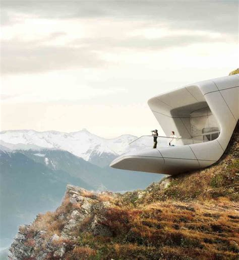 gallery of messner mountain museum corones zaha hadid messner mountain museum zaha hadid architects arch2o com