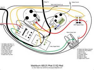 ca gear blog washburn xb125 wiring diagram