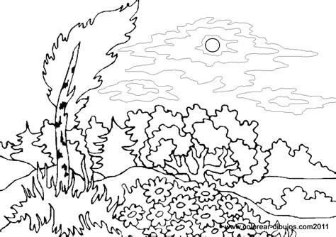 dibujos para colorear paisajes dibujos para colorear de paisajes dibujos de paisajes para