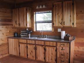 pics photos rustic cabin kitchen cabinets