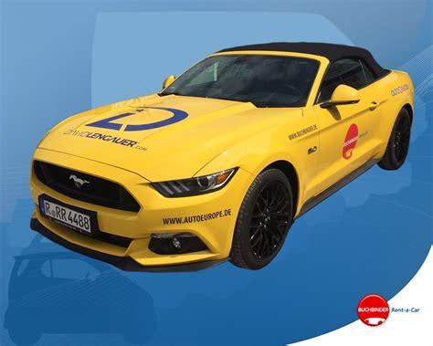 Auto Von Autovermietung Kaufen by Hier K 246 Nnen Sie G 252 Nstig Einen Neuen Ford Mustang Mieten