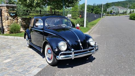 Black Volkswagen Beetle For Sale by Classic Vw Bugs 1956 Oval Window Black Beetle For Sale