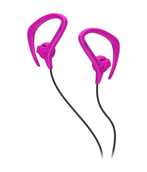 shave around the ear womens chops skullcandy s4chfz 313 chops bud over ear pink and black