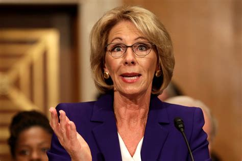 betsy devos latest trump cabinet update when is betsy devos confirmation