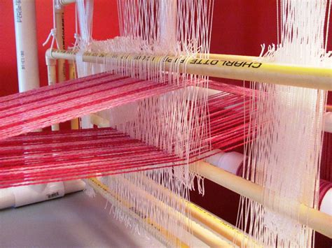 Weave Shed by Pvc Loom Start Weaving Loom Plans Page 2