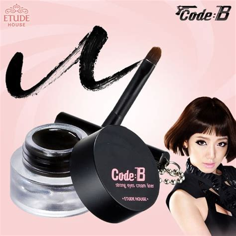 Etude Eyeliner Gel etude house code b strong liner reviews photos