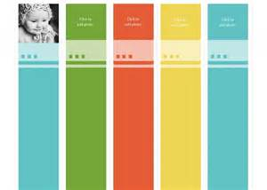 bookmark template works with avery bookmark template avery bookmarks