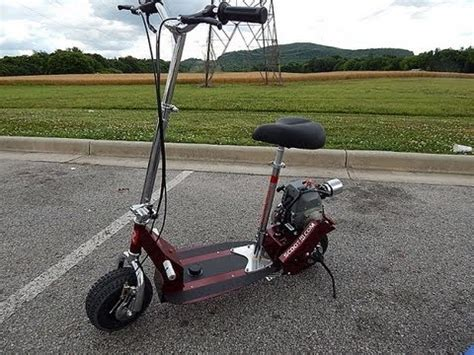 gas scooter with seat nuke gas scooter seat kit a k a lowrider rock scootr