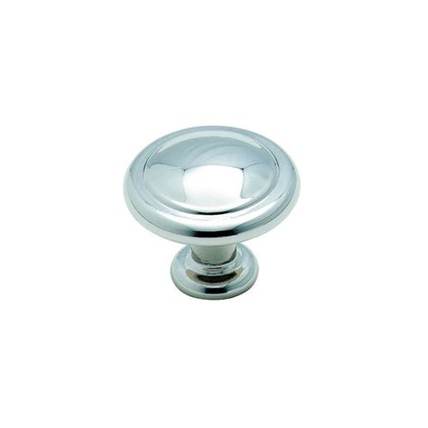 polished chrome cabinet hardware shop amerock reflections polished chrome round cabinet