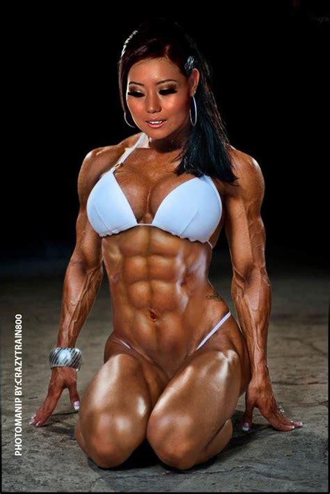 japanese women fitness bodybuilding figurines hot asian fitness models