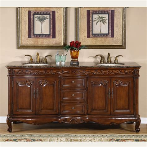 72 Inch Double Sink Bathroom Vanity with Counter Choice