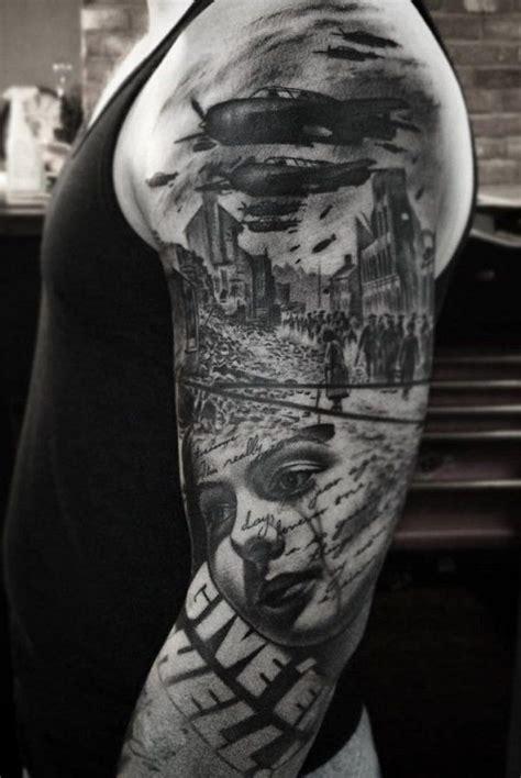 murder tattoo designs 40 stunning war themed tattoos