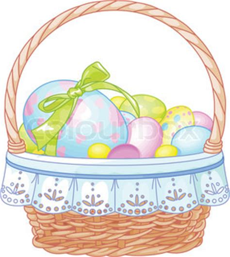 beautiful easter baskets beautiful easter basket with colorful eggs on the meadow