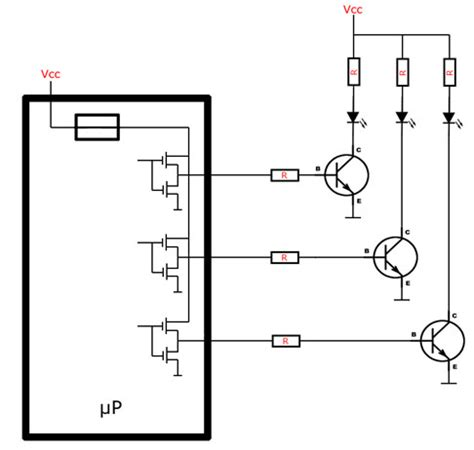 npn transistor with led npn transistor driving led 28 images audio driving an led circuit saving a resistor on an