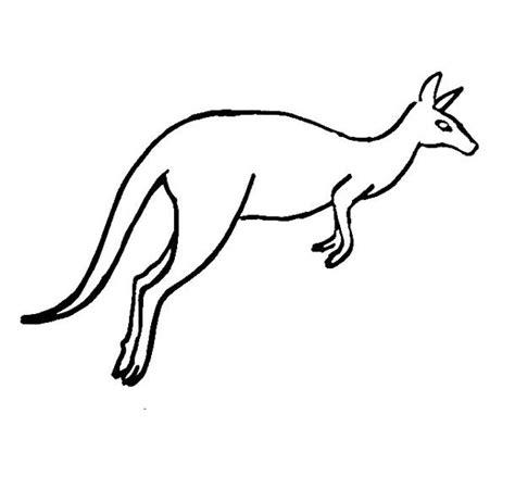 Kangaroo Coloring Pages Kangaroo Colouring Page