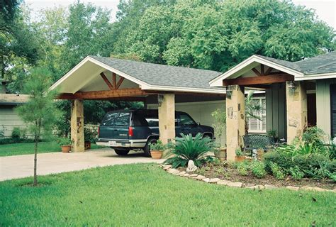 carport holz carports wood crafters