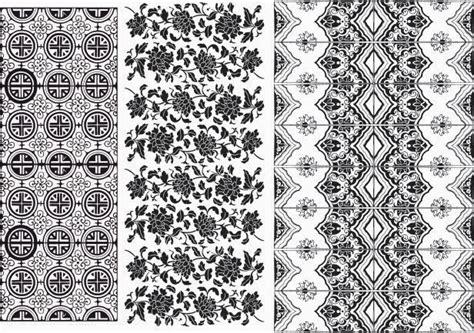 pattern undangan cdr download gratis vector batik corel draw part1 vectorisme