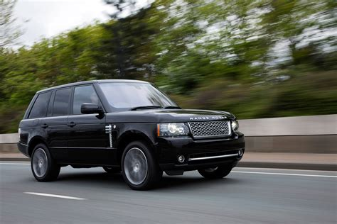 black land rover range rover autobiography black 40th anniversary limited