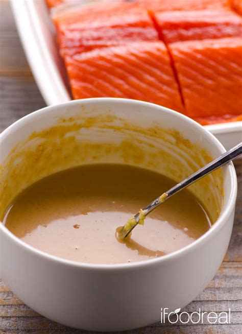 peanut butter salmon  miso ifoodreal healthy