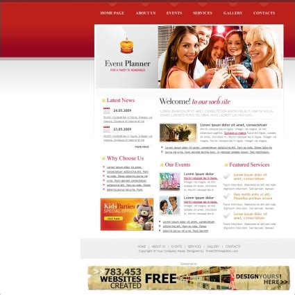 Event Website Template Learnhowtoloseweight Net Event Website Template