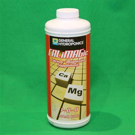 supplements r us ebay general hydroponics calimagic 32 oz quart qt calcium