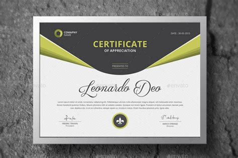 certificate ai template 20 professional certificate template psd indesign and