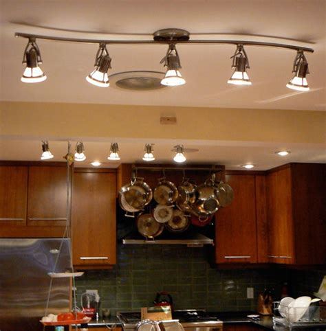 Best Lighting For Kitchen Ceiling 25 Best Ideas About Kitchen Track Lighting On Farmhouse Track Lighting Track