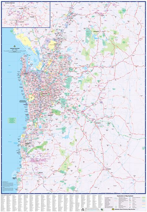 map centre parramatta adelaide suburbs ubd  super