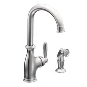 moen one handle kitchen faucet moen 7735 brantford single handle kitchen faucet