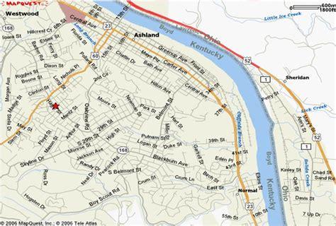 kentucky map ashland directions hager elementary