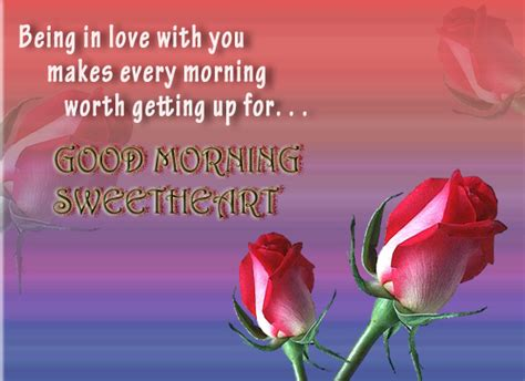 good morning love greetings good morning sweetheart free good morning ecards