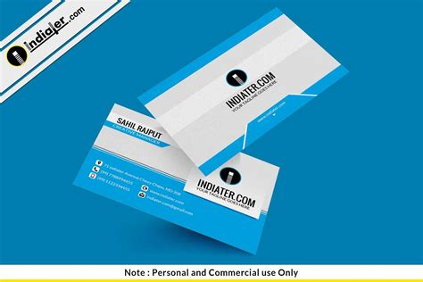 Cool Business Card Templates Psd by Indiater Awesome Creative Business Card Psd Template