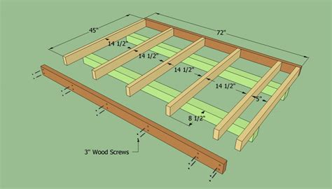 build a floor plan how to build a lean to shed howtospecialist how to