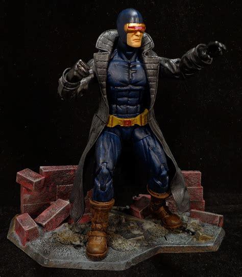 Costum Cyclops 2 stronox custom figures marvel legends infinite cyclops