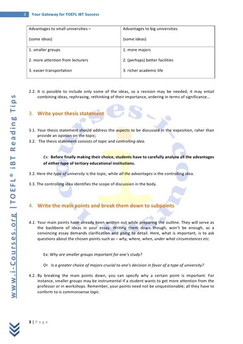 essay format toefl sle essay topics for toefl ibt buy original essays