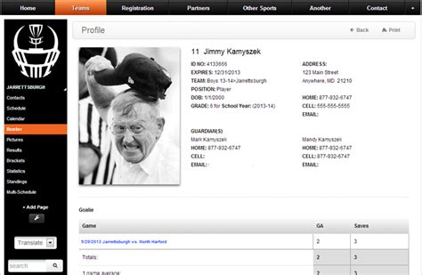 bio exles for coaches best photos of athlete bio template football player