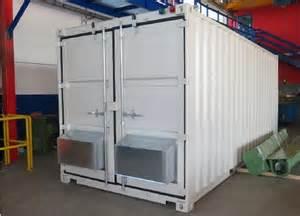 cabine de grenaillage en container industrie syst 232 mes