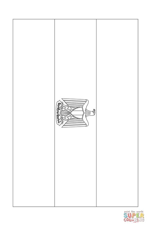 coloring page egypt flag flag of egypt coloring page free printable coloring pages