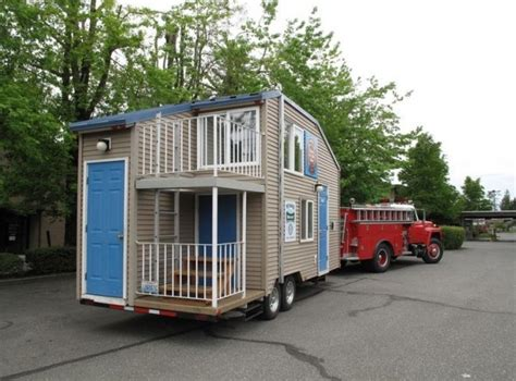 tiny house on trailer plans safety tiny house design