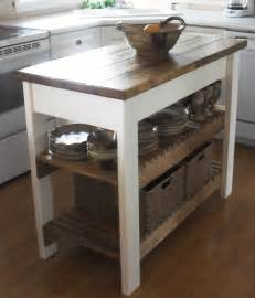 Build An Island For Kitchen by White Kitchen Island Diy Projects