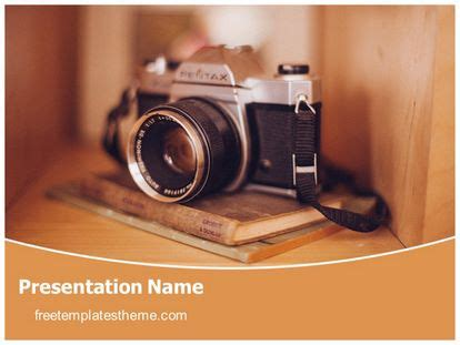 camera powerpoint templates free camera photography powerpoint template