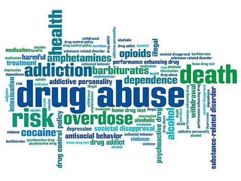 Words Associated With Detox by Royalty Free Addiction Clip Vector Images